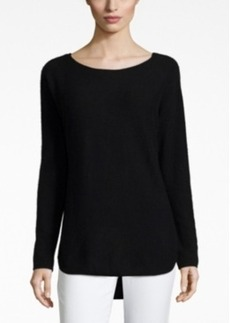 Charter Club Cashmere Boat-Neck High-Low Sweater, Only at Macy's