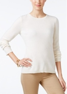 Charter Club Cashmere Crew-Neck Sweater, Only at Macy's, 18 Colors Available