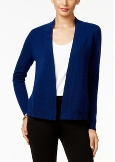 Charter Club Cashmere Open-Front Cardigan, Only at Macy's