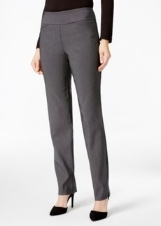 Charter Club Checkered Slim-Leg Pants, Only at Macy's