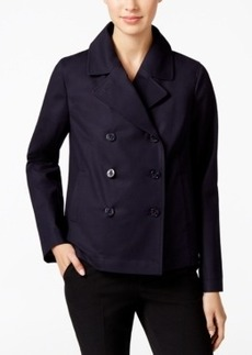 Charter Club Cropped Trench Coat, Only at Macy's