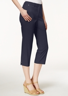 Charter Club Cropped Twill Pants, Only at Macy's