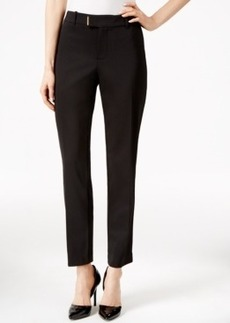 Charter Club Extended-Tab Ankle Pants, Only at Macy's
