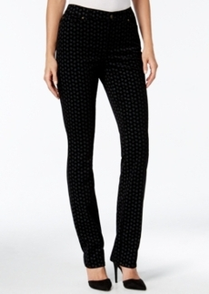 Charter Club Foulard Print Lexington Corduroy Straight Leg Pant, Only at Macy's