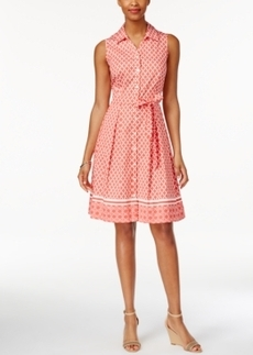 Charter Club Iconic-Print Shirtdress, Only at Macy's
