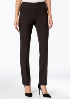 Charter Club Jacquard Slim-Leg Pants, Only at Macy's