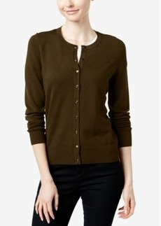 Charter Club Long-Sleeve Cardigan, Only at Macy's