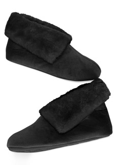 Charter Club Microvelour Bootie Slipper with Memory Foam, Only at Macy's