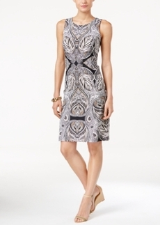 Charter Club Petite Paisley-Print Shift Dress, Only at Macy's