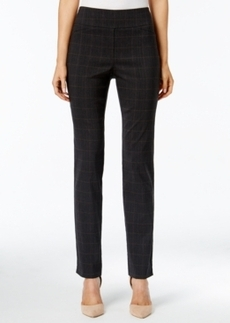 Charter Club Plaid Slim-Leg Pants, Only at Macy's