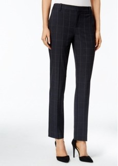 Charter Club Plaid Slim Ankle Pants, Only at Macy's