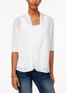 Charter Club Pointelle Cardigan, Only at Macy's