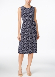 Charter Club Petite Printed Dress, Only at Macy's
