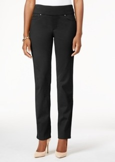 Charter Club Pull-On Slim-Leg Pants, Only at Macy's