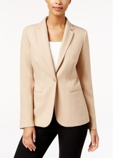 Charter Club Single-Button Blazer, Only at Macy's