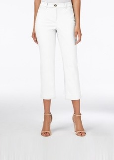 Charter Club Straight-Leg Cropped Pants, Only at Macy's