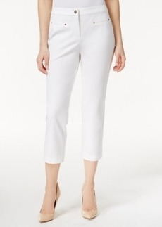 Charter Club Stretch Cropped Pants, Only at Macy's
