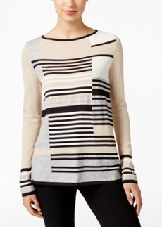 Charter Club Striped Boat-Neck Sweater, Only at Macy's