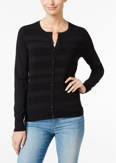 Charter Club Striped Cardigan, Only at Macy's