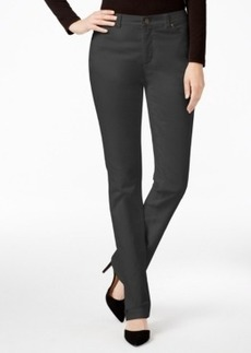 Charter Club Solid Lexington Corduroy Straight Leg Pant, Only at Macy's