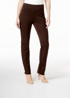 Charter Club Tummy-Control Ponte Leggings, Only at Macy's