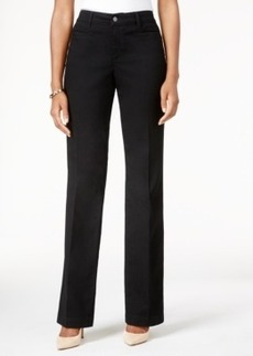 Charter Club Tummy-Control Straight-Leg Pants, Only at Macy's