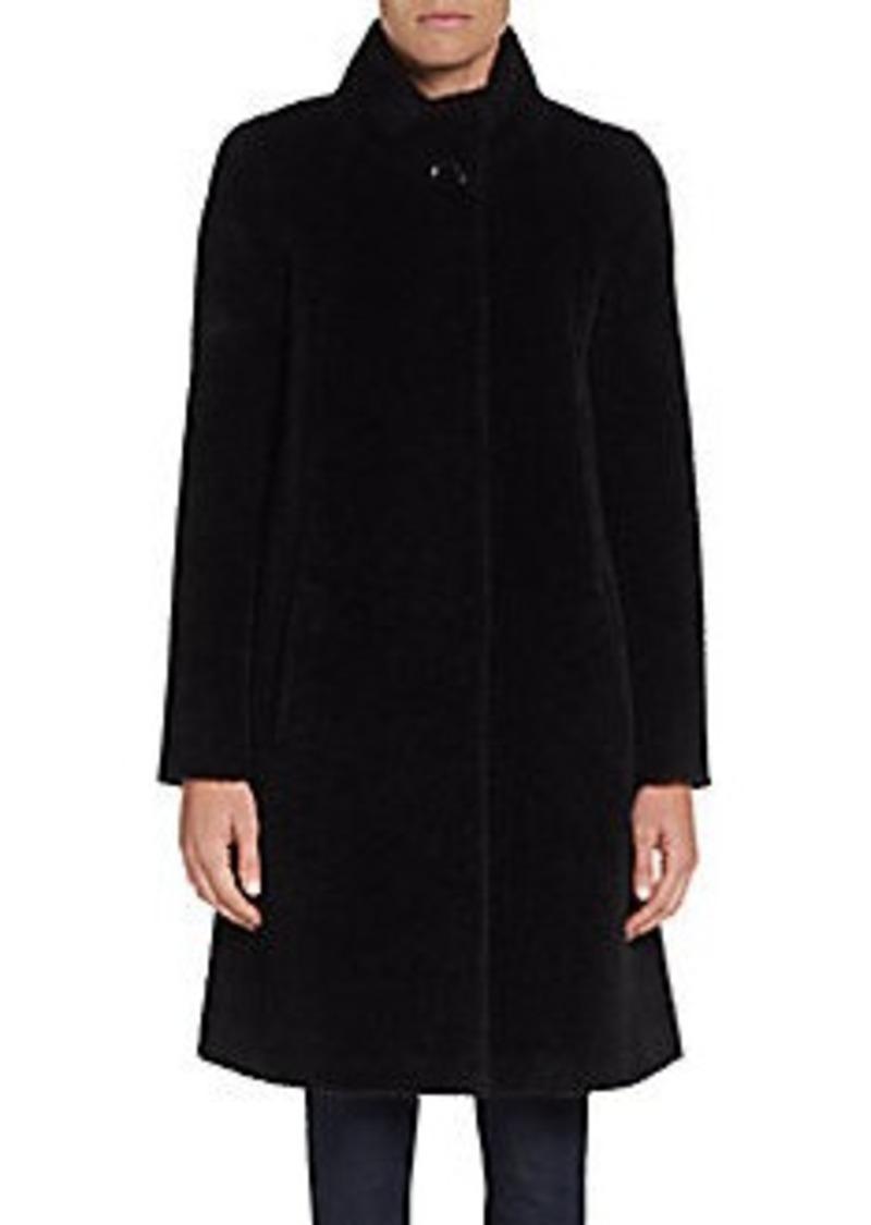Cinzia Rocca DUE A-Line Wool & Alpaca Coat