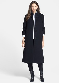 Cinzia Rocca DUE Stand Collar Side Slit Long Coat