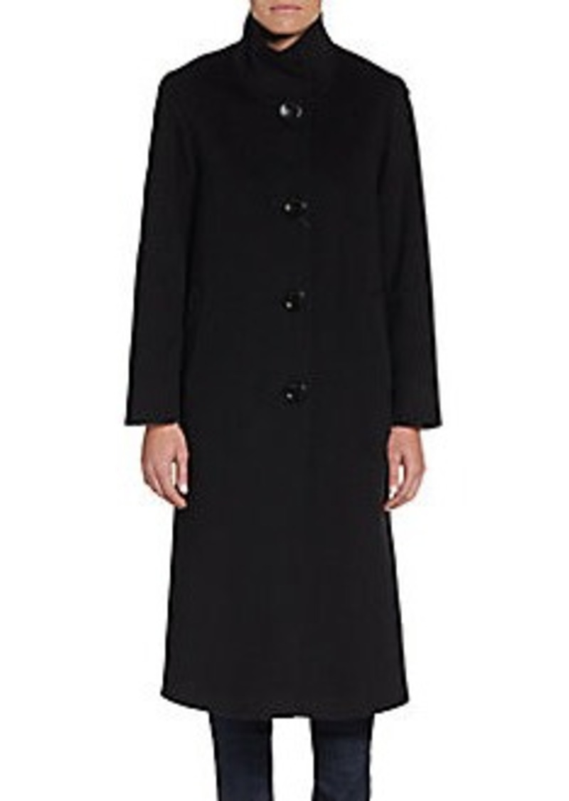 Cinzia Rocca DUE Wool-Blend High-Collar Coat