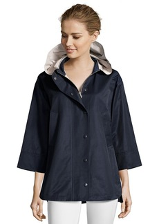 Cinzia Rocca midnight water-resistant cotton ...