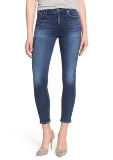 Citizens of Humanity 'Rocket' High Rise Crop Skinny Jeans (Spritz)