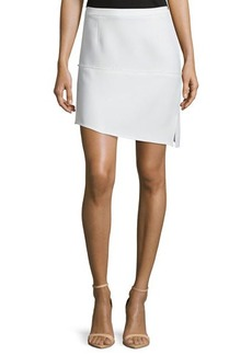 CoSTUME NATIONAL Asymmetric-Hem Slim-Fit Skirt