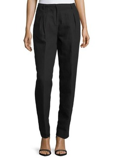 CoSTUME NATIONAL Crepe Pleated Trousers
