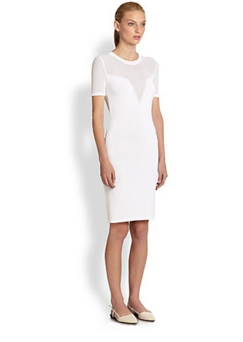Costume National Knit Trompe L'Oeil Dress