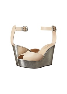 CoSTUME NATIONAL Metallic Wedge Sandal