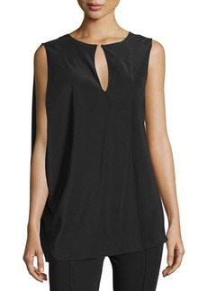 CoSTUME NATIONAL Sleeveless Draped Top