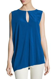 CoSTUME NATIONAL Sleeveless Keyhole-Front Top