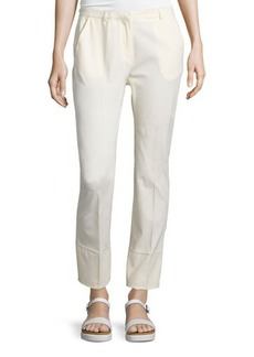 CoSTUME NATIONAL Straight-Leg Ankle Trousers