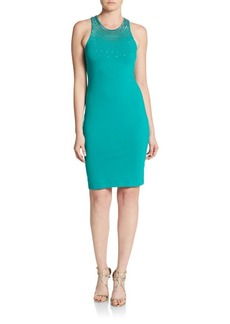 Cynthia Steffe Ava Beaded Bodycon Dress