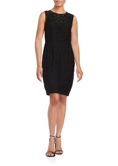 CYNTHIA STEFFE Kennedy Floral Lace Sheath Dress