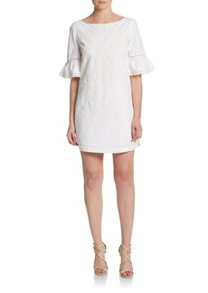 Cynthia Steffe Noelle Embroidered Shift Dress