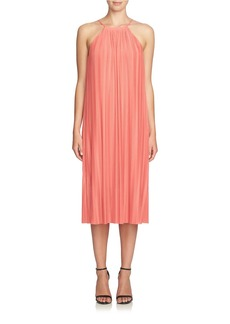 CYNTHIA STEFFE Pleated Midi Dress