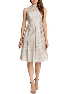 Cynthia Steffe Sadie Sleeveless Metallic Circles Dress