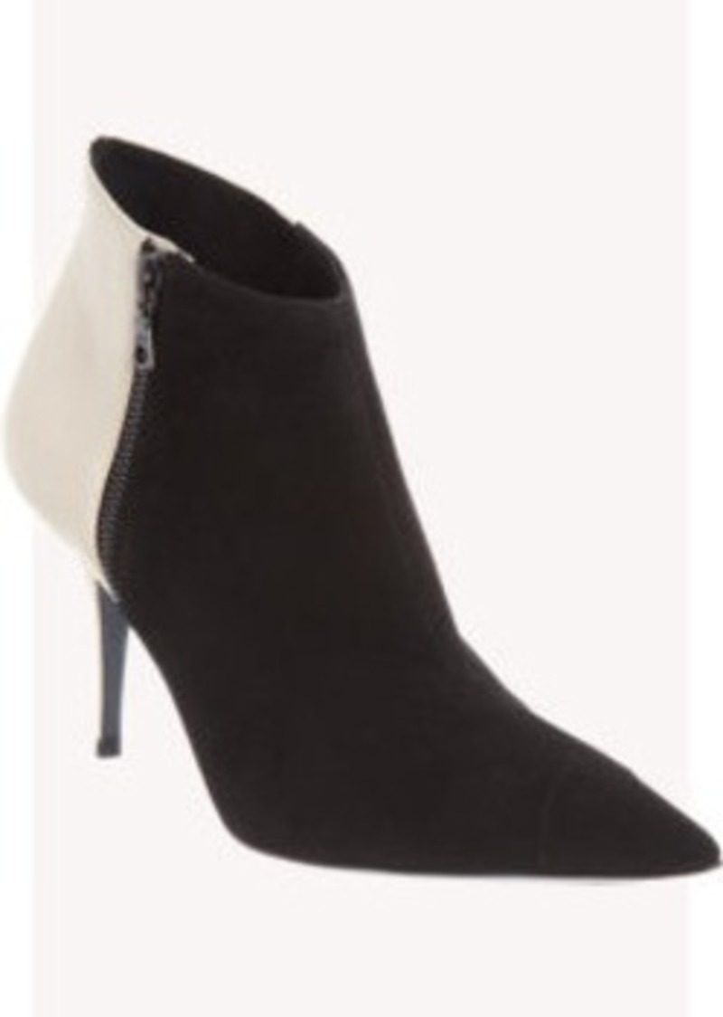 Narciso Rodriguez Bicolor Short Ankle Boot