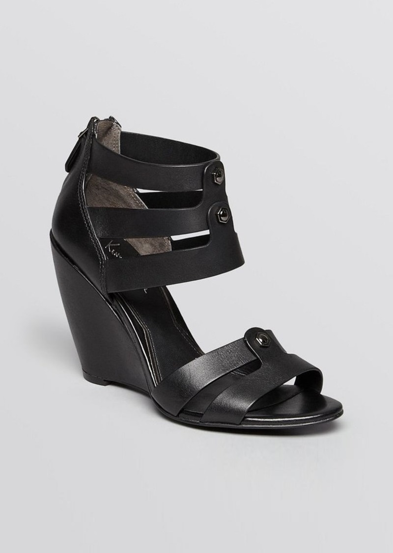 Kenneth Cole Open Toe Wedge Sandals - Balfour