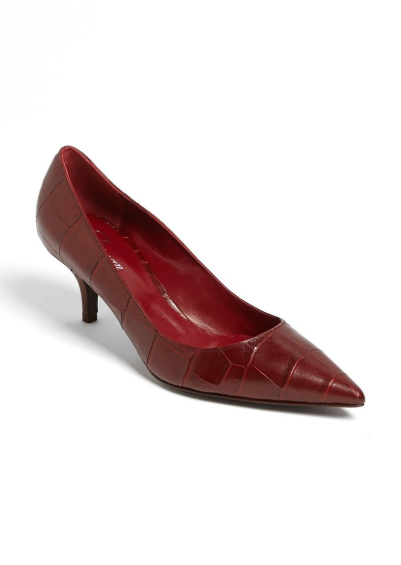 Delman 'Belle' Pointed Toe Pump