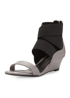 Delman Dylan Strappy Wedge Sandal
