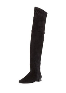 Delman Evoke Suede Over-the-Knee Boot