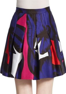 Diane von Furstenberg Gemma Pleated Skirt