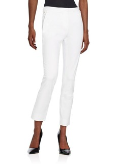 Diane von Furstenberg Genesis Stretch-Cotton Pants